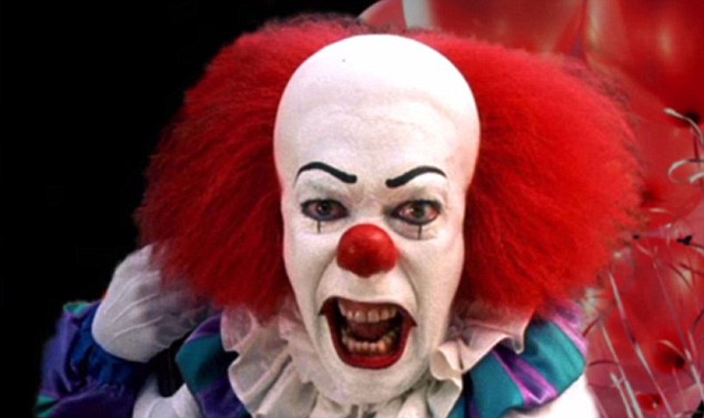 Pennywise in the miniseries It was just the beginning...