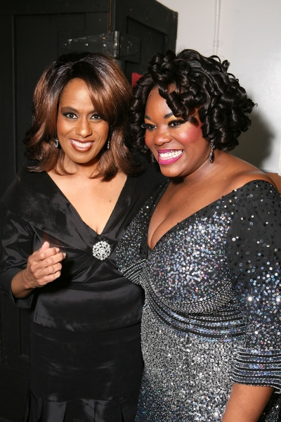 Jennifer Holliday and Moya Angela