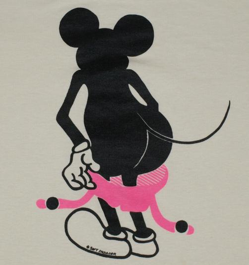 Mickey is bootylicious.  Who knew???