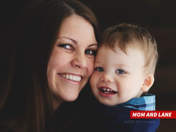 Melissa Graves and her son, Matt.