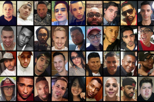 These photo combination shows victims of the mass shooting that occurred early Sunday, June 12, 2016, at the Pulse nightclub in Orlando, Fla. Top row from left are: Amanda Alvear, Angel L. Candelario-Padro, Anthony Luis Laureano Disla, Antonio Davon Brown, Christopher Leinonen, Christopher Joseph Sanfeliz, Darryl Roman Burt II, Edward Sotomayor Jr., Enrique L. Rios Jr., Eric Ivan Ortiz-Rivera and Frank Hernandez. Second row from left are: Franky Jimmy De Jesus Velazquez, Gilberto Ramon Silva Menendez, Jason Benjamin Josaphat, Javier Jorge-Reyes, Jean Carlos Mendez Perez, Joel Rayon Paniagua, Jonathan Antonio Camuy Vega, Juan P. Rivera Velazquez, Juan Ramon Guerrero, Kimberly Morris and Leroy Valentin Fernandez. Third row from left are: Luis D. Conde, Luis Daniel Wilson-Leon, Luis Omar Ocasio-Capo, Luis S. Vielma, Martin Benitez Torres, Mercedez Marisol Flores, Miguel Angel Honorato, Oscar A Aracena-Montero, Paul Terrell Henry, Peter O. Gonzalez-Cruz and Rodolfo Ayala-Ayala. Bottom row from left are: Shane Evan Tomlinson, Simon Adrian Carrillo Fernandez, Stanley Almodovar III, Tevin Eugene Crosby, Xavier Emmanuel Serrano Rosado, Yilmary Rodriguez Sulivan, Eddie Jamoldroy Justice, Brenda Lee Marquez McCool, Geraldo Ortiz-Jimenez and Juan Chavez Martinez. (AP Photo)