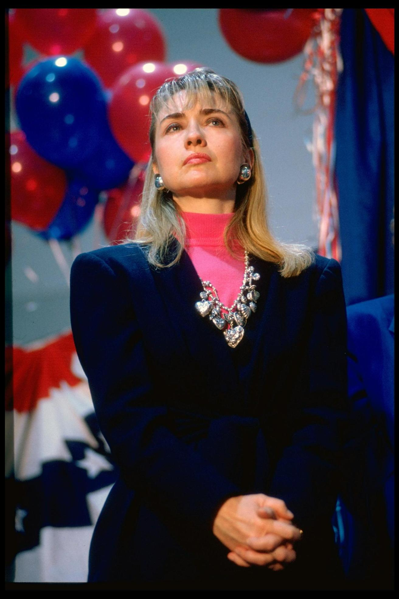 Hillary Rodham Clinton, circa 1992