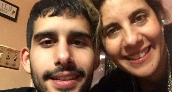 Kevin DeOliveira and his mother, Marcia