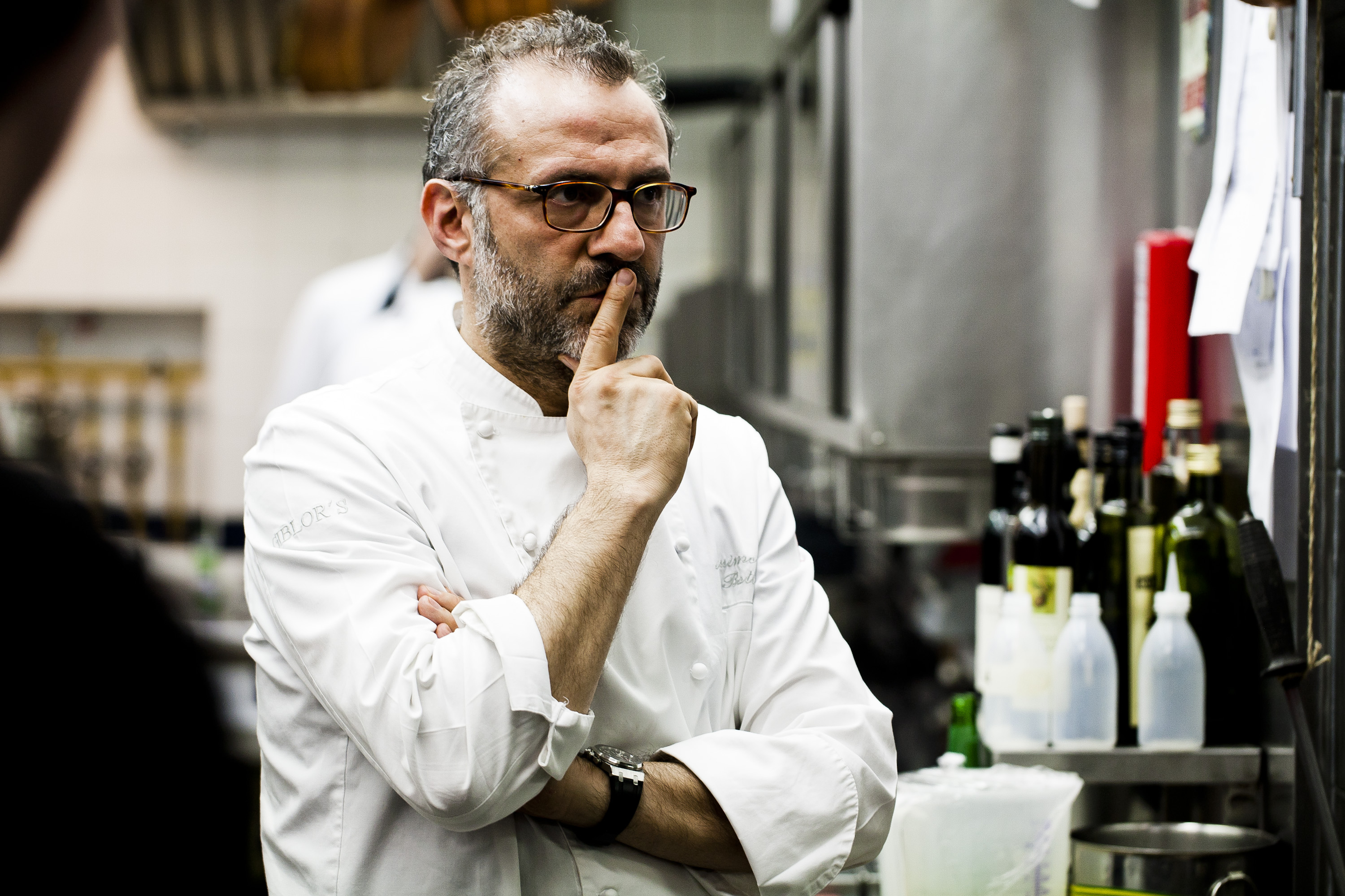 Kitchen backstage; International Gourmet Festival 2012; Tribute to Claudia 2012; Day 11 - January 22nd; Massimo Bottura