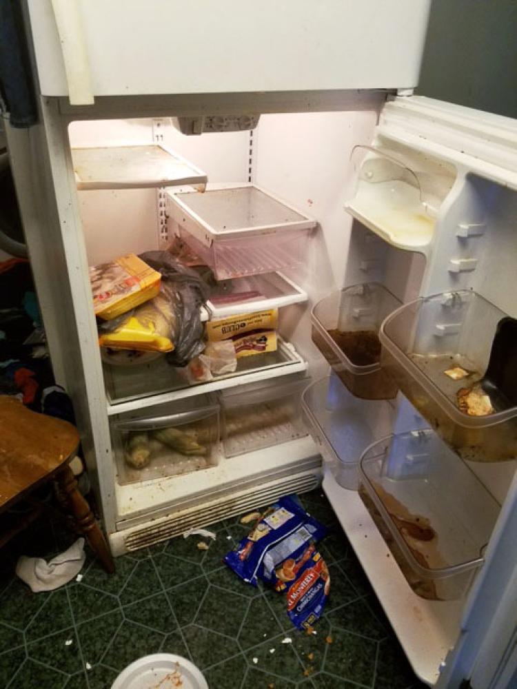 nasty fridge