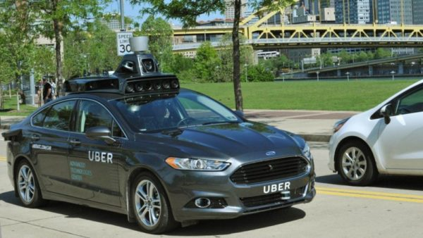 Uber's first self-driving car