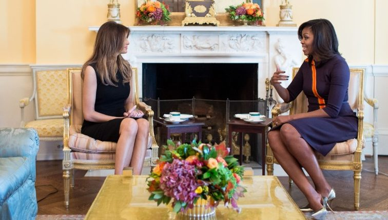 michelle-obama-and-melania-trump-closer