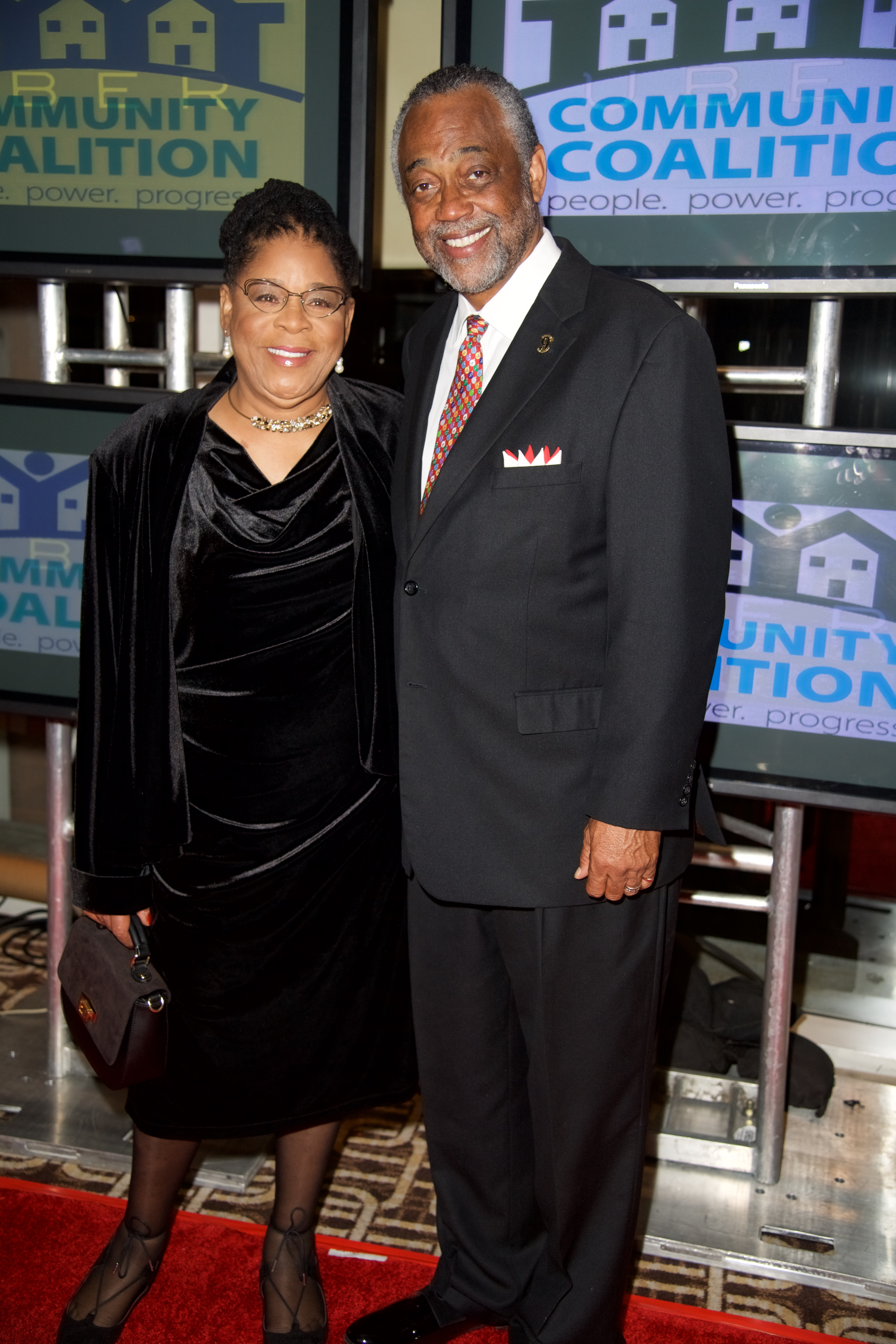 L-R Founder of A New Way of Life Project Susan Burton and LA City Councilmember, Curren D. Price, Jr.