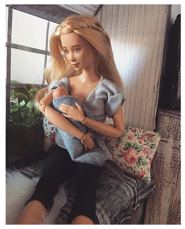 barbie-breastfeeding