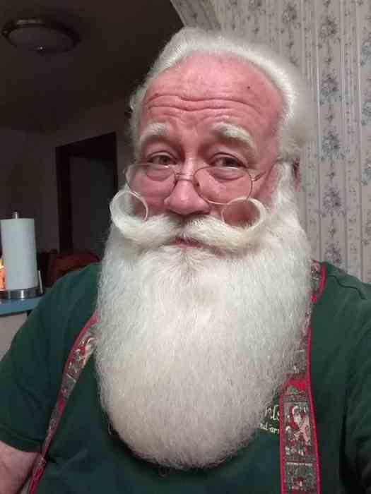 Eric Schmitt in his authentic Santa-self