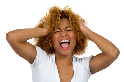 black-woman-scream