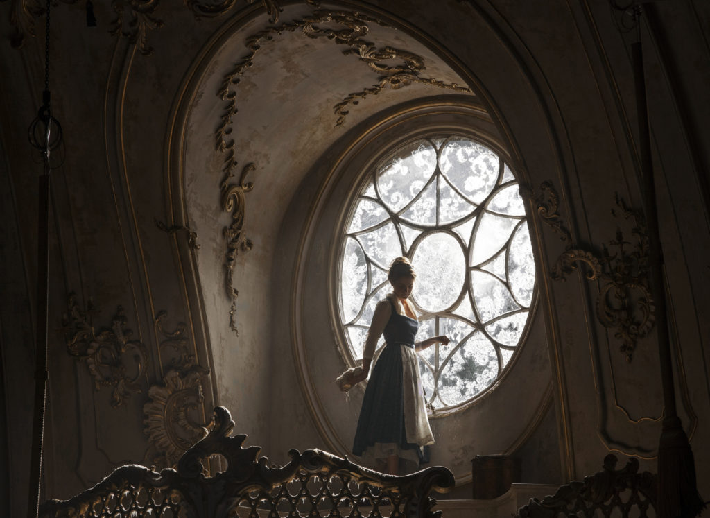 Belle (Emma Watson) in the West Wing of the Beast's castle in Disney's BEAUTY AND THE BEAST, a live-action adaptation of the studio's animated classic directed by Bill Condon which brings the story and characters audiences know and love to life. Courtesy © Disney