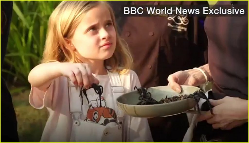 angelina-jolie-eats-spiders-insects-with-her-kids-01