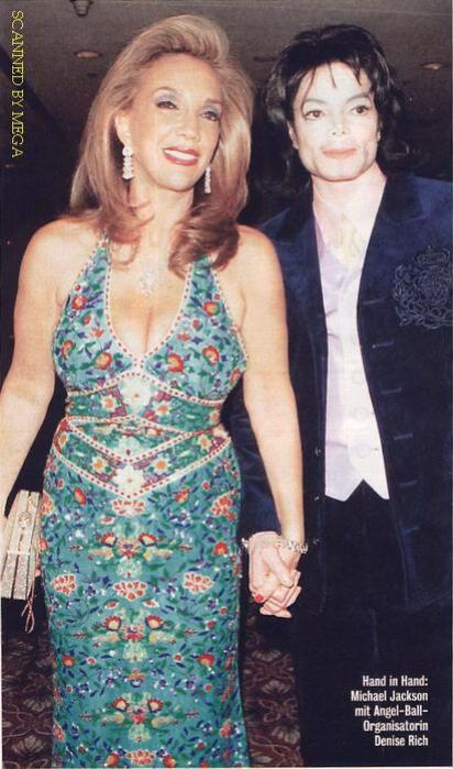 Denise Rich and Michael Jackson