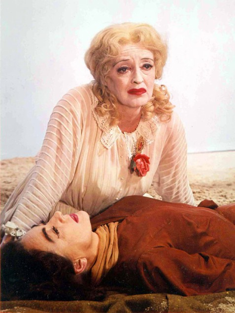 "Another visual reference point for my visit with Michael: Bette Davis in ""Whatever Happened to Baby Jane?"""