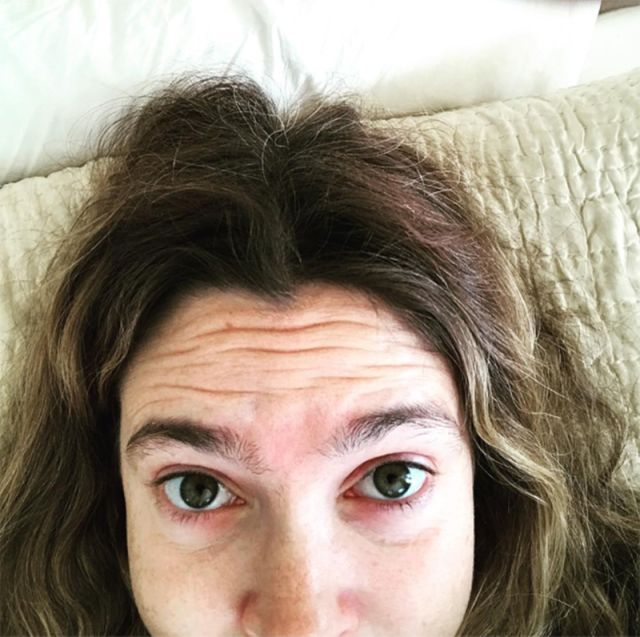 Drew Barymore selfie
