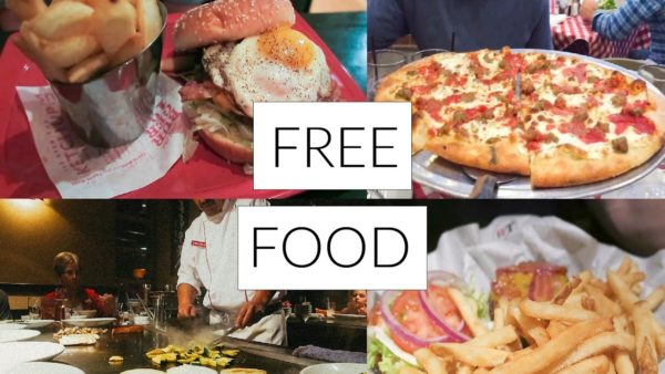 Places to eat free for my birthday