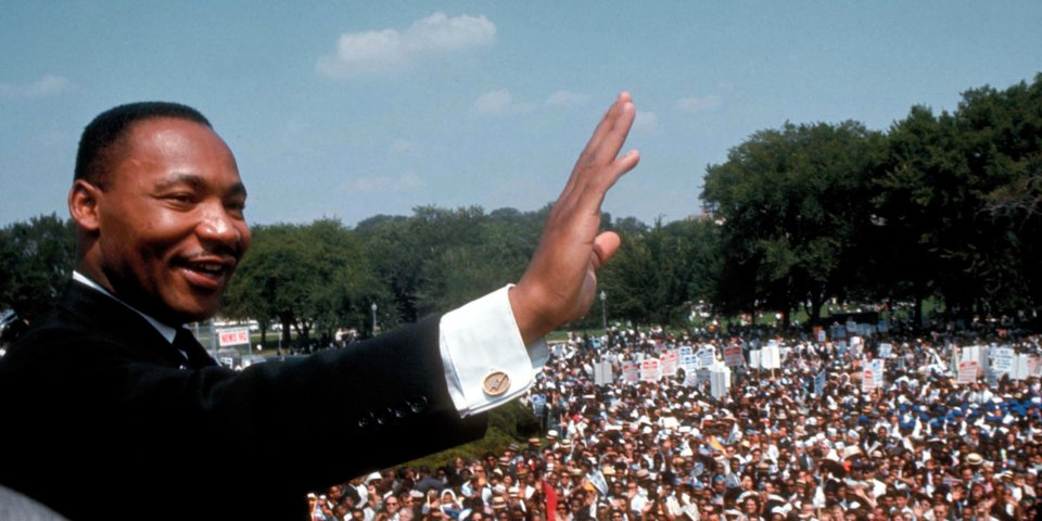 martin luther king jr. - march on washington - getty