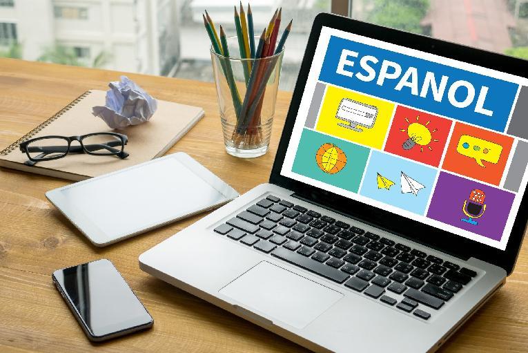 Spanish - Espanol lessons on computer