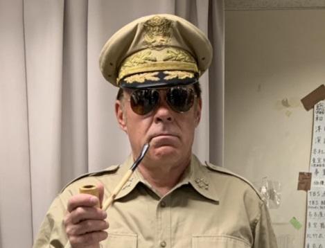 Danny Winn as General McArthur